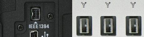 FireWire 4/9-pins