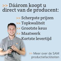 Meer over de SAM productiefaciliteiten